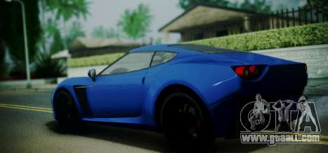 Grotti Carbonizzare from GTA 5 for GTA San Andreas left view