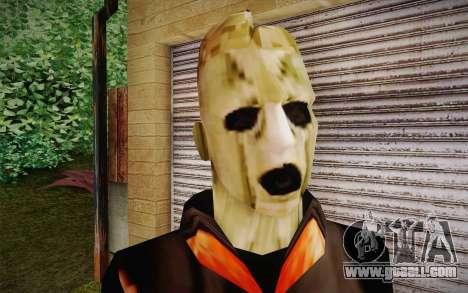 Corey Taylor Skin for GTA San Andreas third screenshot