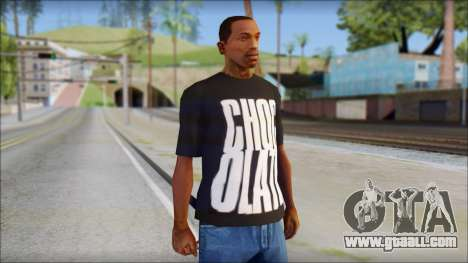 Chocolate T-Shirt for GTA San Andreas