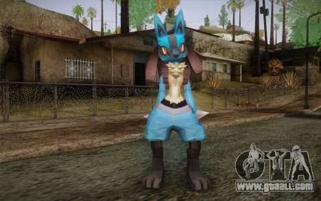 Lucario from Pokemon for GTA San Andreas
