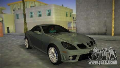 Mercedes-Benz SLK55 AMG for GTA Vice City