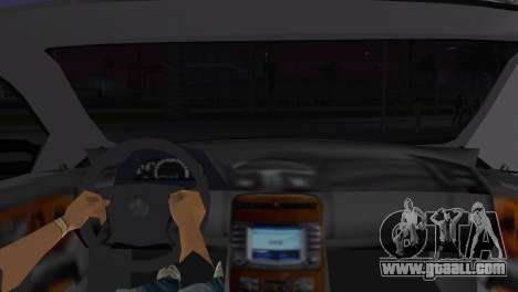 Mercede-Benz CL65 AMG Limousine for GTA Vice City back left view