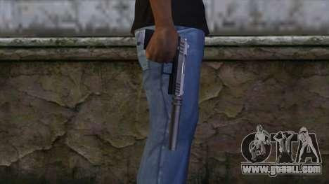 Silenced Combat Pistol from GTA 5 for GTA San Andreas third screenshot