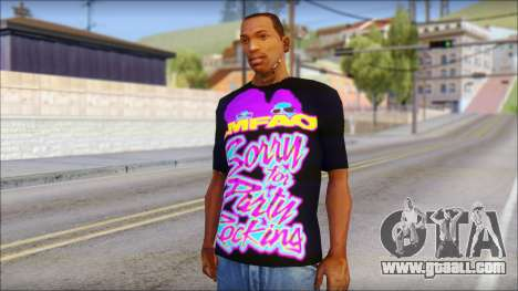 LMAFAO T-Shirt for GTA San Andreas