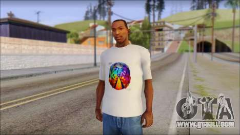 Muse Resistance T-Shirt for GTA San Andreas
