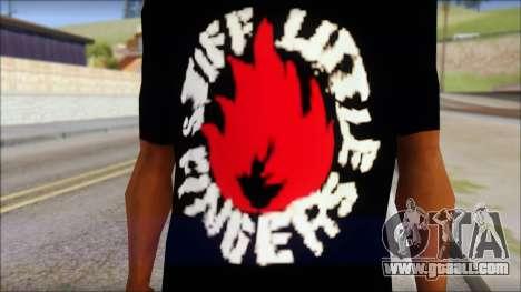 Stiff Little Fingers T-Shirt for GTA San Andreas third screenshot