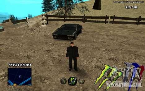 C-HUD Monster Energy for GTA San Andreas