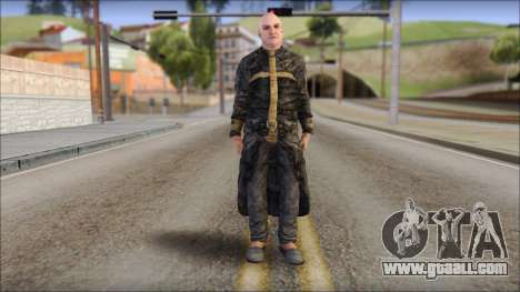Father Martrin From Outlast for GTA San Andreas