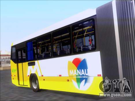 Прицеп Neobus Mega BHNS Volvo B12-340M for GTA San Andreas right view