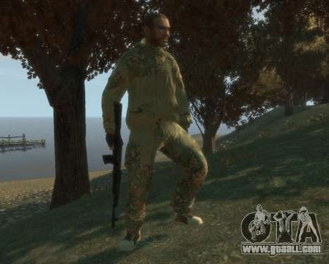 Russian camouflage for GTA 4 second screenshot