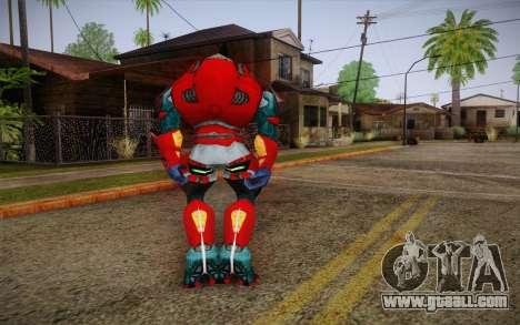 Red Elite v2 for GTA San Andreas second screenshot