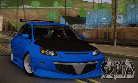 Mazda Speed 3 Tuning for GTA San Andreas