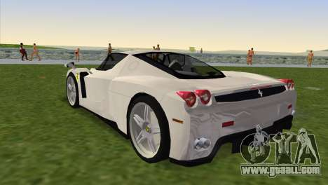 Ferrari Enzo 2003 for GTA Vice City left view