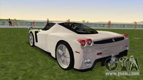 Ferrari Enzo 2003 for GTA Vice City left view
