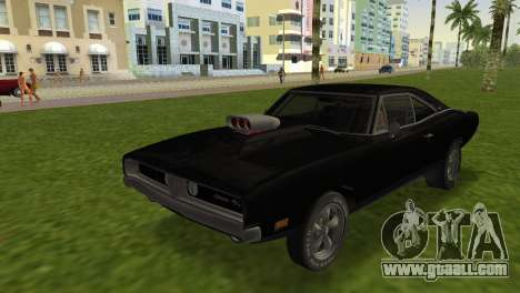 Dodge Charger RT Street Drag 1969 for GTA Vice City