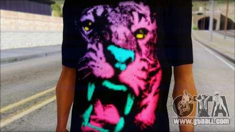 Wild POP Thing Shirt for GTA San Andreas third screenshot