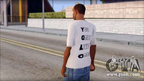 YOLO T-Shirt for GTA San Andreas second screenshot