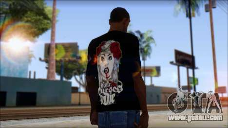 Your Curses Die Fan T-Shirt for GTA San Andreas second screenshot