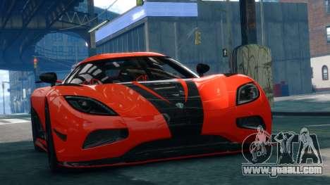 Koenigsegg Agera R 2013 for GTA 4
