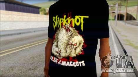 SlipKnoT T-Shirt v5 for GTA San Andreas third screenshot