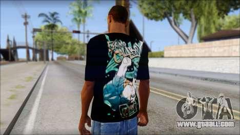Eskimo Callboy Fan T-Shirt for GTA San Andreas second screenshot