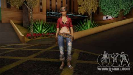 Misty from Call of Duty: Black Ops for GTA San Andreas