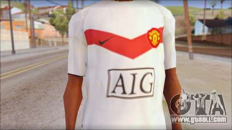 Manchester United Shirt for GTA San Andreas third screenshot