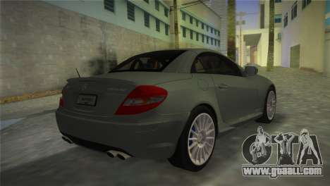 Mercedes-Benz SLK55 AMG for GTA Vice City left view