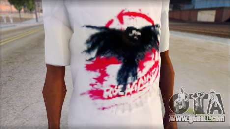 Rise Against T-Shirt V2.1 for GTA San Andreas third screenshot