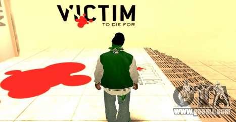 Grove Street Gang Skin pack for GTA San Andreas second screenshot