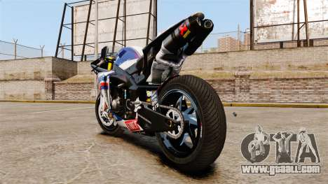 Yamaha YZF-R1 PJ2 for GTA 4 back left view