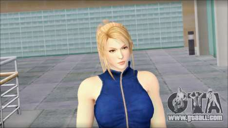 Sarah from Dead or Alive 5 v2 for GTA San Andreas third screenshot