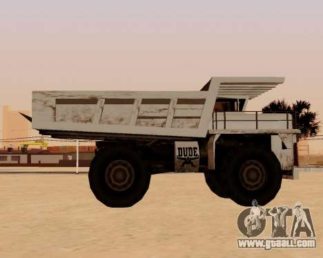 Updated Dumper for GTA San Andreas left view