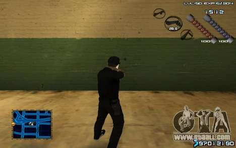 C-HUD by SampHack v.6 for GTA San Andreas