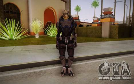 Garrus from Mass Effect 3 for GTA San Andreas