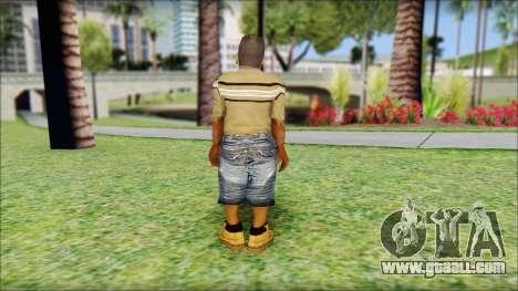 CJ Dwarf v2 for GTA San Andreas second screenshot