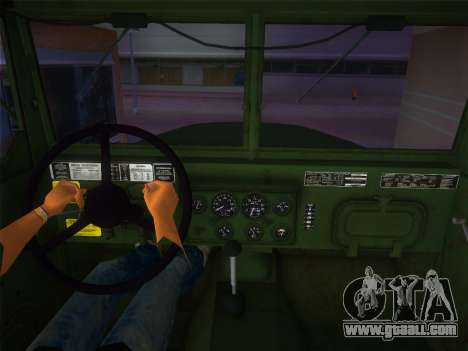 AM General M35A2 1986 for GTA Vice City back left view