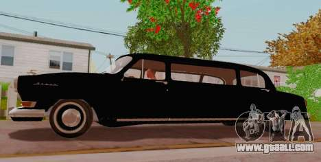 GAZ 21 Limousine for GTA San Andreas left view