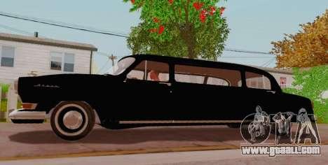 GAZ 21 Limousine for GTA San Andreas left view