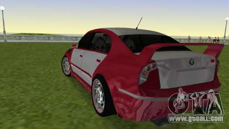 Skoda Superb Tuned for GTA Vice City left view