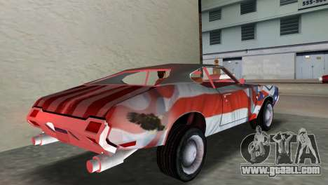 Oldsmobile 442 1970 v2.0 for GTA Vice City left view