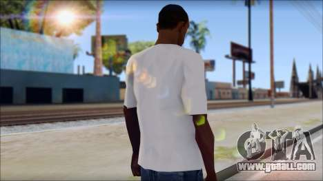 Slash T-Shirt for GTA San Andreas second screenshot