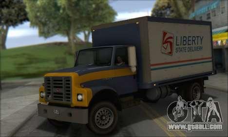 GTA IV Yankee for GTA San Andreas