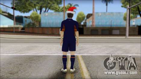 Messi Arsenal Christmas Special for GTA San Andreas second screenshot