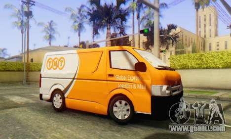Toyota Hiace TNT Cargo Van 2006 for GTA San Andreas left view
