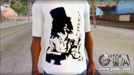 Slash T-Shirt for GTA San Andreas third screenshot