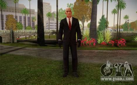 Hitman Blood Money Agent 47 for GTA San Andreas