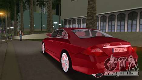 Mercedes-Benz CLS500 for GTA Vice City left view