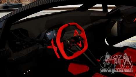 Lamborghini Sesto Element 2011 for GTA 4 back left view