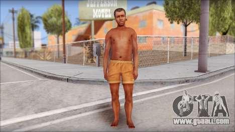 Beach Character 4 for GTA San Andreas second screenshot